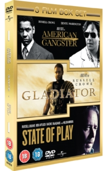 American Gangster/Gladiator/State of Play, DVD