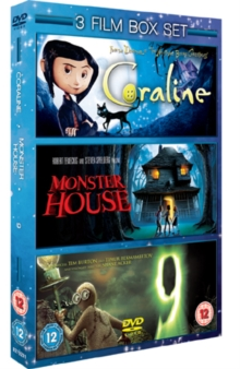 Coraline/Monster House/9, DVD