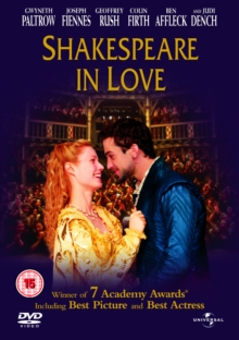 Shakespeare in Love, DVD