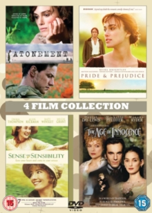 Atonement/The Age of Innocence/Pride and Prejudice/..., DVD