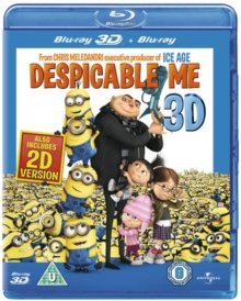 Despicable Me, Blu-ray