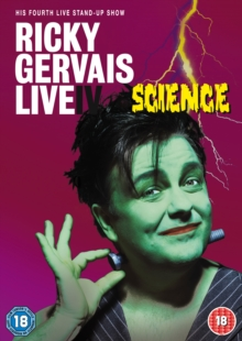 Ricky Gervais: Live 4 - Science, Blu-ray