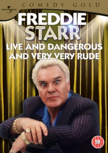 Freddie Starr: Live and Dangerous, DVD