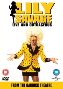 Lily Savage: Live and Outrageous, DVD