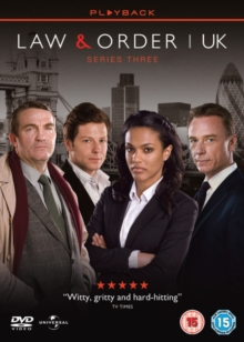 Law and Order - UK: Season 3, DVD