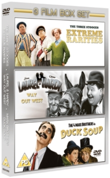 The Three Stooges: Extreme Rarities/Way Out West/Duck Soup, DVD