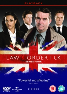 Law and Order - UK: Season 4, DVD
