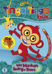 Tinga Tinga Tales: Why Monkeys Swing in the Trees, DVD  DVD