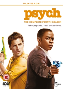 Psych: The Complete Fourth Season, DVD
