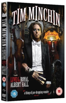 Tim Minchin and the Heritage Orchestra: Live at the Royal..., DVD  DVD