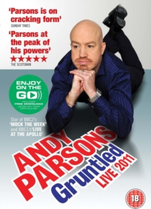 Andy Parsons: Gruntled Live 2011, DVD  DVD
