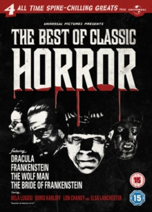 The Best of Classic Horror, DVD DVD