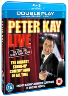 Peter Kay: Live - The Tour That Didn't Tour Tour, Blu-ray