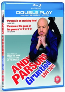 Andy Parsons: Gruntled Live 2011, Blu-ray