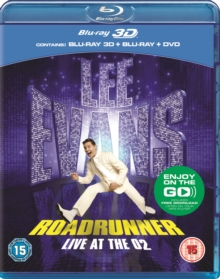 Lee Evans: Roadrunner - Live at the O2, Blu-ray