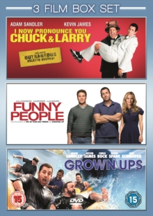 I Now Pronounce You Chuck and Larry/Funny People/Grown Ups, DVD  DVD