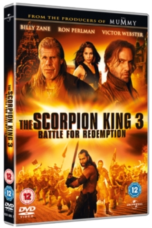 The Scorpion King 3 - Battle for Redemption, DVD