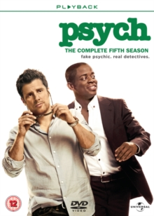 Psych: The Complete Fifth Season, DVD