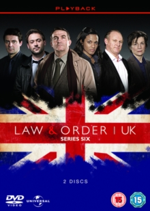 Law and Order - UK: Season 6, DVD