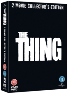 The Thing (1982)/The Thing (2011), DVD