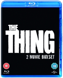 The Thing (1982)/The Thing (2011), Blu-ray BluRay