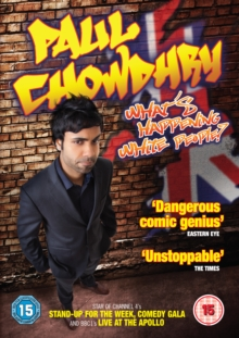 Paul Chowdhry: What's Happening White People!, DVD