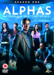 Alphas: Season 1, DVD