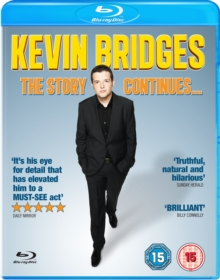 Kevin Bridges: The Story Continues, Blu-ray