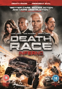 Death Race: Inferno, DVD