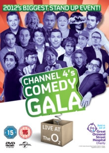 Channel 4's Comedy Gala 2012, DVD