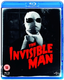 The Invisible Man, Blu-ray
