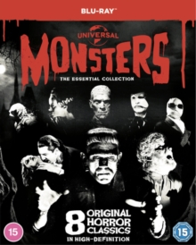Universal Classic Monsters: The Essential Collection, Blu-ray