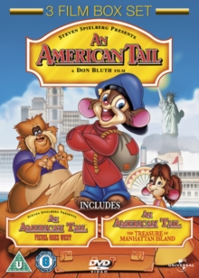 An  American Tail/Fievel Goes West/An American Tail 3, DVD DVD