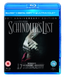 Schindler's List, Blu-ray
