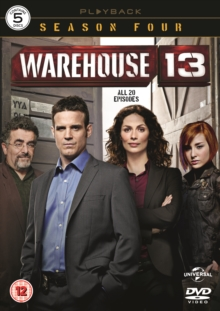 Warehouse 13: Season 4, DVD