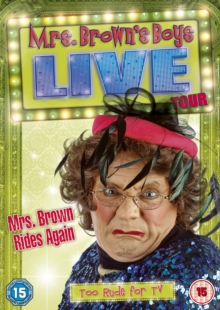 Mrs Brown Rides Again - Live Tour, DVD
