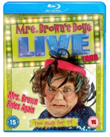 Mrs Brown Rides Again - Live Tour, Blu-ray