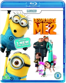 Despicable Me 2, Blu-ray
