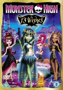 Monster High: 13 Wishes, DVD