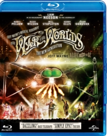 Jeff Wayne's the War of the Worlds - The New Generation..., Blu-ray