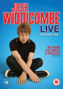 Josh Widdicombe: Live - And Another Thing..., DVD  DVD