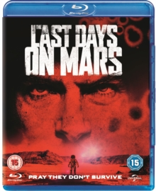 The Last Days On Mars, Blu-ray BluRay