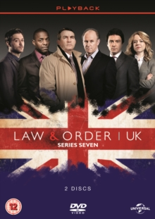 Law and Order - UK: Season 7, DVD