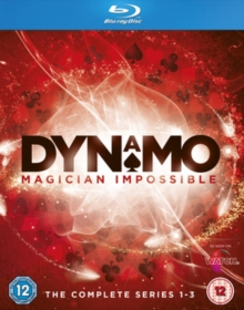 Dynamo - Magician Impossible: Series 1-3, Blu-ray