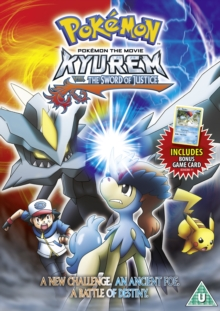 Pokémon: Kyurem Vs the Sword of Justice, DVD  DVD