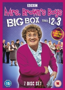 Mrs Brown's Boys: Series 1-3, DVD