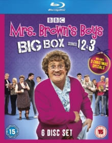 Mrs Brown's Boys: Series 1-3, Blu-ray