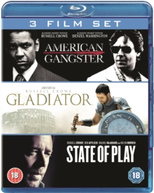 American Gangster/Gladiator/State of Play, Blu-ray  BluRay
