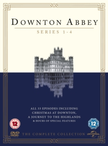 Downton Abbey: Series 1-4, DVD