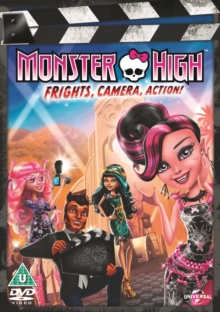 Monster High: Frights, Camera, Action!, DVD